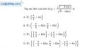 Bài 1.10 trang 14 SBT đại số và giải tích 11