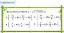 Bài 1.7 trang 13 SBT đại số và giải tích 11