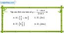 Bài 1.8 trang 13 SBT đại số và giải tích 11