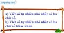 Bài 18 trang 8 SBT toán 6 tập 1