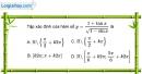 Bài 1.9 trang 13 SBT đại số và giải tích 11