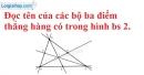 Bài 2.1 phần bài tập bổ sung trang 123 SBT toán 6 tập 1