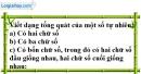 Bài 27 trang 9 SBT toán 6 tập 1