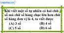 Bài 3.1 phần bài tập bổ sung trang 9 SBT toán 6 tập 1
