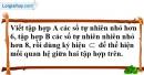 Bài 32 trang 10 SBT toán 6 tập 1