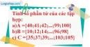 Bài 34 trang 10 SBT toán 6 tập 1