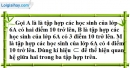 Bài 39 trang 10 SBT toán 6 tập 1