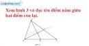 Bài 6 trang 122 SBT toán 6 tập 1