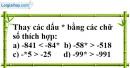 Bài 22 trang 70 SBT toán 6 tập 1