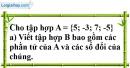 Bài 32 trang 71 SBT toán 6 tập 1