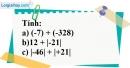 Bài 36 trang 72 SBT toán 6 tập 1