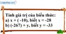 Bài 39 trang 72 SBT toán 6 tập 1