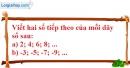 Bài 41 trang 72 SBT toán 6 tập 1