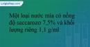 Bài 6.13 trang 15 SBT Hóa học 12