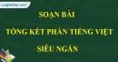 Tổng kết phần Tiếng Việt
