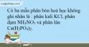 Bài 11.2* Trang 14 SBT Hóa học 9
