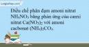 Bài 11.4* Trang 15 SBT Hóa học 9