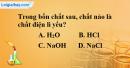 Bài 1.3 trang 3 SBT hóa học 11