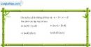 Bài 1.34 trang 16 SBT đại số 10