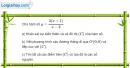 Bài 1.81 trang 41 SBT giải tích 12