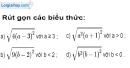 Bài 32 trang 10 SBT toán 9 tập 1