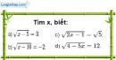 Bài 34 trang 10 SBT toán 9 tập 1