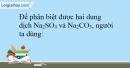 Bài 5.2 Trang 8 SBT Hóa học 9