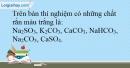 Bài 9.6 Trang 12 SBT Hóa học 9