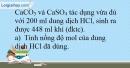 Bài 9.7 Trang 12 SBT Hóa học 9