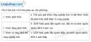 Câu 1 trang 5 SBT địa 11