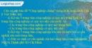 Câu 9 trang 89 SBT địa 12