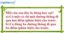 Bài 3.1 phần bài tập bổ sung trang 126 SBT toán 6 tập 1