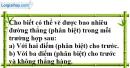 Bài 3.3 phần bài tập bổ sung trang 126 SBT toán 6 tập 1