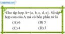 Bài 4.1 phần bài tập bổ sung trang 11 SBT toán 6 tập 1