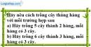 Bài 4.1 phần bài tập bổ sung trang 126 SBT toán 6 tập 1