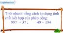 Bài 46 trang 11 SBT toán 6 tập 1