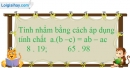 Bài 49 trang 12 SBT toán 6 tập 1