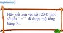 Bài 53 trang 12 SBT toán 6 tập 1