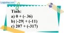 Bài 43 trang 72 SBT toán 6 tập 1