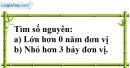 Bài 47 trang 73 SBT toán 6 tập 1