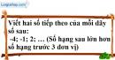 Bài 48 trang 73 SBT toán 6 tập 1