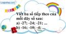 Bài 5.2 phần bài tập bổ sung trang 73 SBT toán 6 tập 1