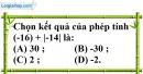 Bài 5.3 phần bài tập bổ sung trang 73 SBT toán 6 tập 1