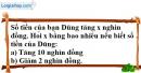Bài 53 trang 74 SBT toán 6 tập 1