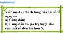 Bài 5.4 phần bài tập bổ sung trang 74 SBT toán 6 tập 1