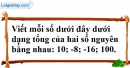 Bài 56 trang 74 SBT toán 6 tập 1
