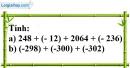 Bài 57 trang 74 SBT toán 6 tập 1