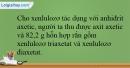 Bài 7.10 trang 17 SBT Hóa học 12