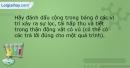 Bài 8 trang 36 SBT Sinh học 11