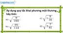Bài 36 trang 10 SBT toán 9 tập 1